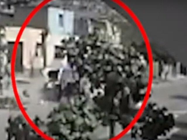 VMT: chofer de mototaxi queda gravemente herido tras choque con patrullero