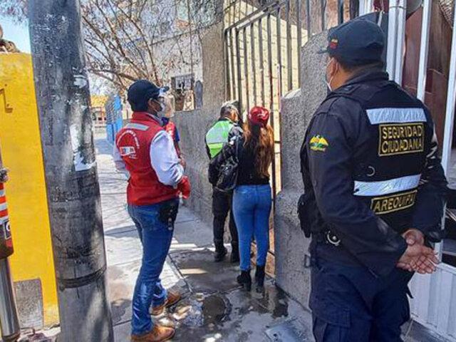 Covid-19: clausuran por quinta vez conocido prostíbulo en Arequipa