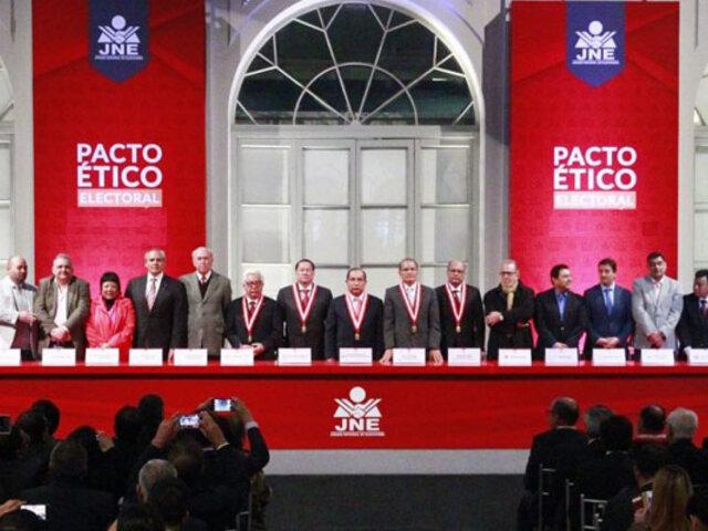 "Elecciones 2021: Pacto Ético busca que partidos eviten posible ""guerra sucia"" en redes sociales"
