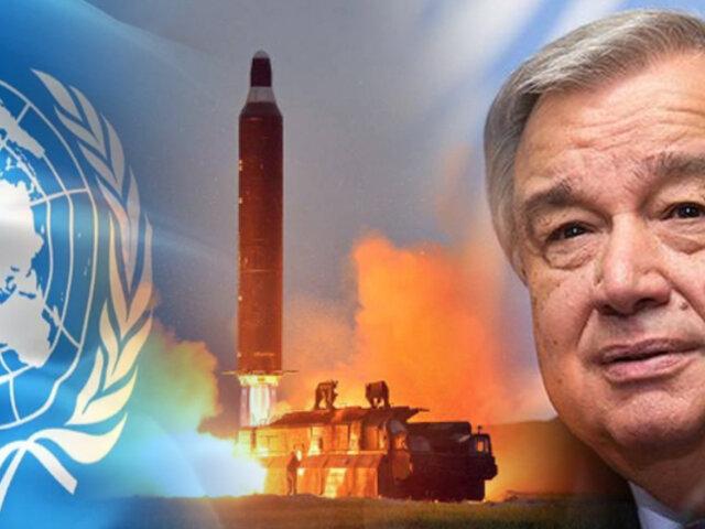 Entró en vigor Tratado sobre la Prohibición de Armas Nucleares de la ONU