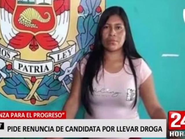 APP pide renuncia de candidata por presunta vinculación con el delito de narcotráfico