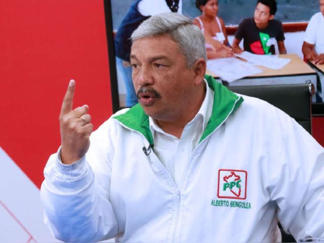 Elecciones 2021: Alberto Beingolea anunció que no renunciará y continuará en la carrera electoral
