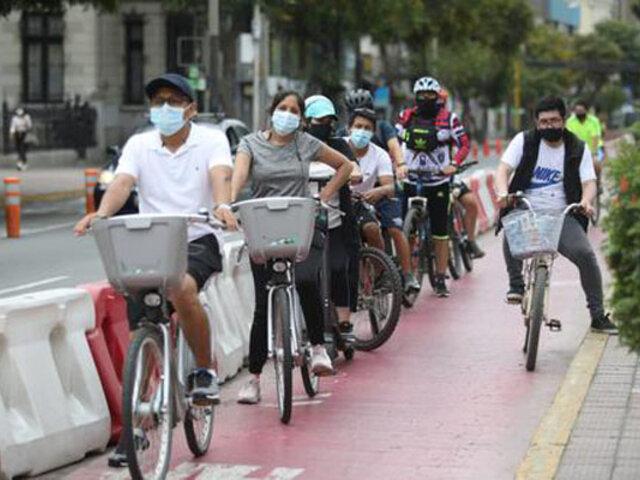 Callao: avenidas La Marina y Guardia Chalaca serán espacios solo para ciclistas y peatones