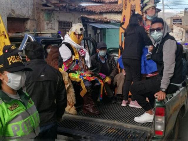 Jauja: unos 30 tunanteros fueron intervenidos por participar en fiesta pese a pandemia de Covid-19