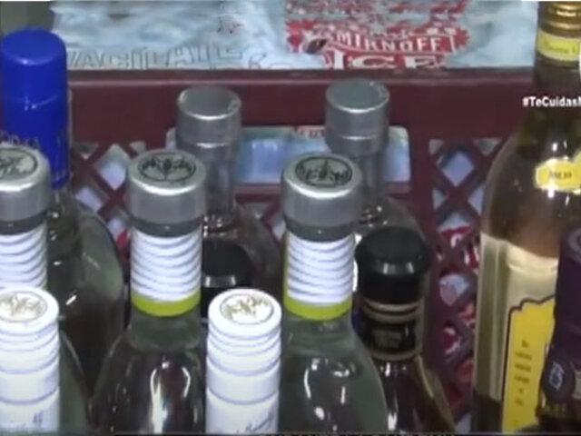 Se incrementó venta de licor adulterado durante la pandemia de Covid-19