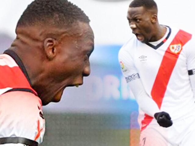 Luis Advíncula metió golazo para el Rayo Vallecano contra el Mallorca