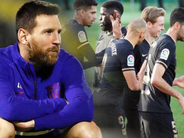 Sin Messi Barcelona venció 2-0 al Elche