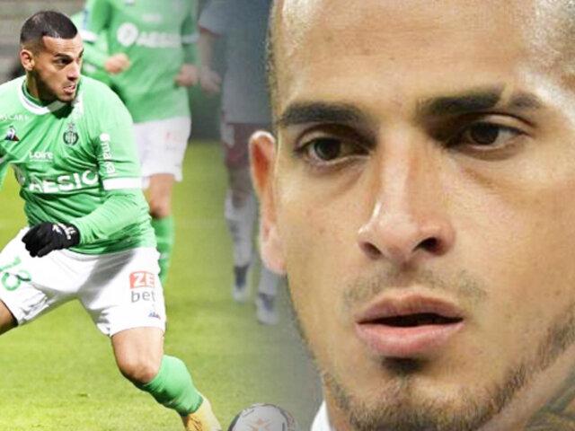 Miguel Trauco: Saint-Étienne cayó por 0-5 ante el Olympique de Lyon