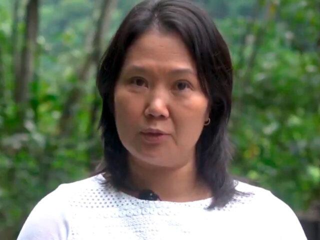 Keiko Fujimori: No podemos cambiar la Constitución, podemos reformarla y mejorarla
