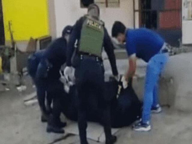 Huaura: presunto extorsionador falleció cuando colocaba explosivo en la puerta de un negocio