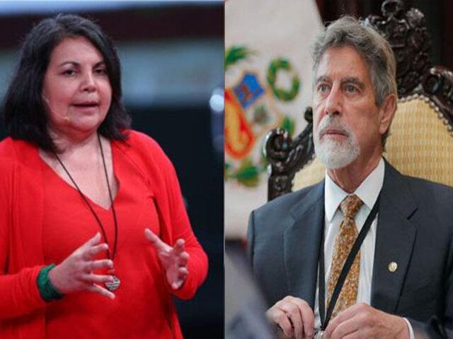 Rocío Silva Santisteban: Sagasti se tiene que vacunar en público y dar ejemplo a la población
