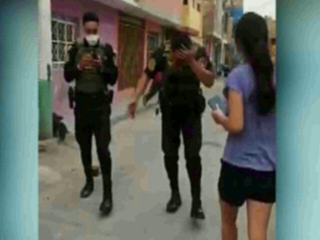 Callao: Dos sujetos le rompieron la cabeza a policía tras ser intervenidos