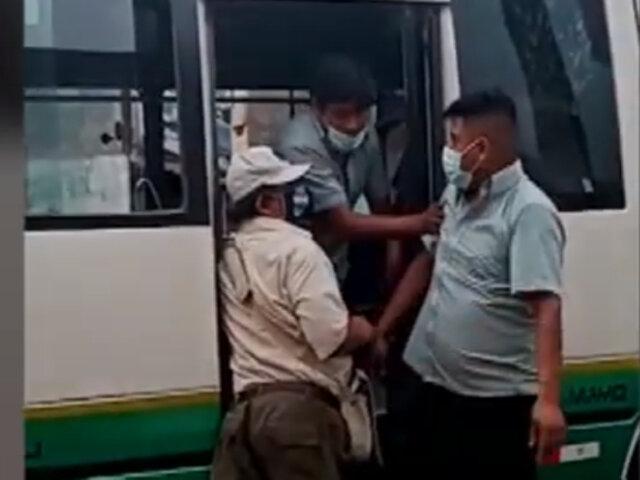 Cobrador de 'Chosicano' agredió a una persona con discapacidad