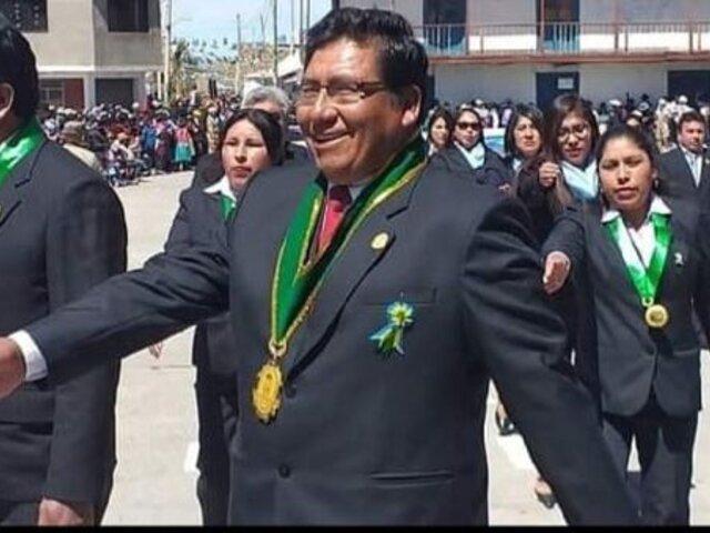 Tacna: alcalde con COVID-19 lucha por su vida y otro falleció víctima del virus