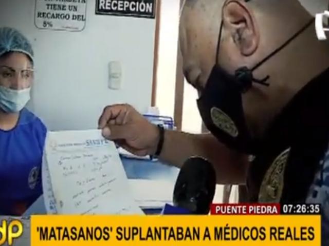 Puente Piedra: falso centro médico seguía operando tras haber sido cerrado por municipio
