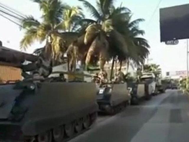 Tumbes: movilizan unidades del Ejército para bloquear  ingreso de extranjeros ilegales