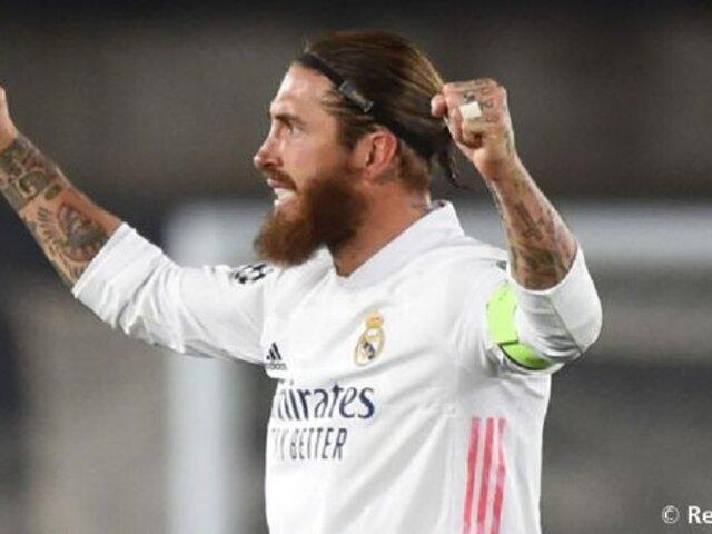 Sergio Ramos dio positivo por COVID-19, informó Real Madrid