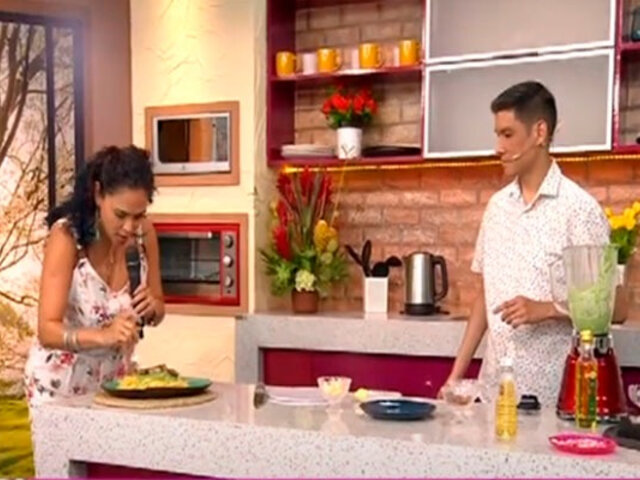 D'mañana: Aprende a preparar exquisitos tallarines verdes al estilo de Paco Flores