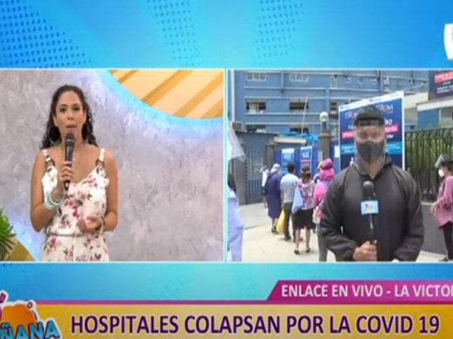 D´Mañana: todos los días personas buscan camas UCI en el hospital Almenara