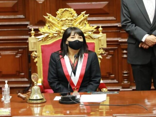 Presidenta del Congreso, Mirtha Vásquez, será denunciada por vocero de PP ante Ética