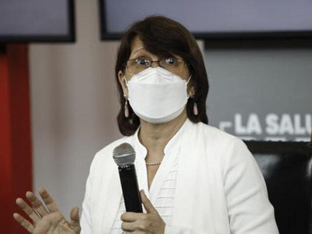Ministra Mazzetti: La contención es la estrategia más importante en la segunda ola de Covid-19