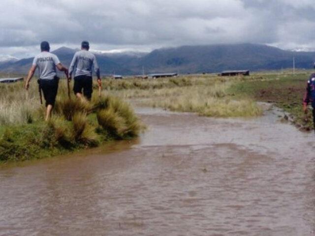 Puno: desborde de río Vilque deja 90 familias damnificadas y cultivos destruidos