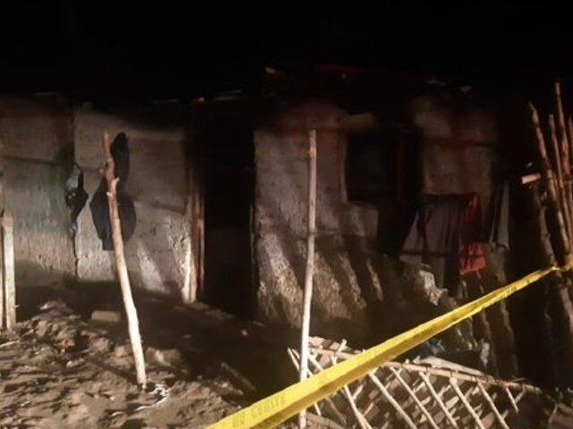 Lambayeque: niño muere en incendio mientras se encontraba solo en su vivienda