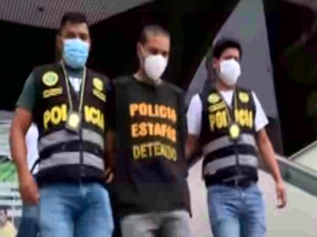 Ciudadano extranjero fue intervenido con 400 mil dólares falsos