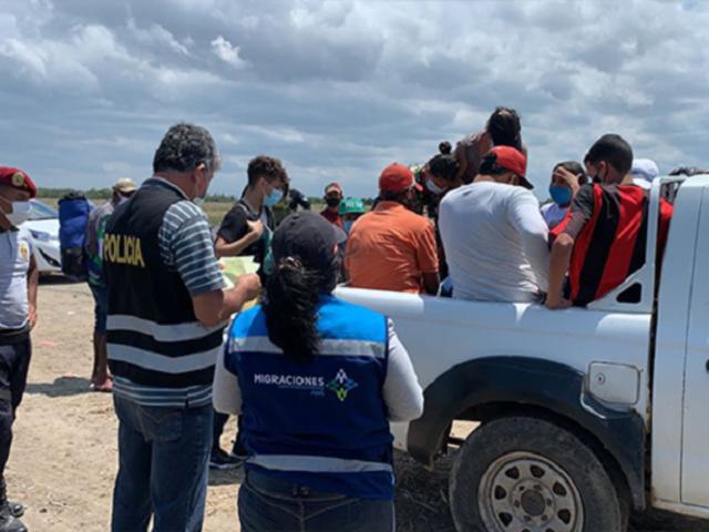 Migraciones y la PNP sancionarán a extranjeros que intenten ingresar de forma irregular al Perú