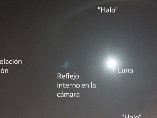 Halo lunar sobre Lima: ¿por qué se produjo este fenómeno meteorológico?