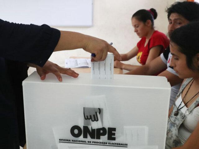 Elecciones 2021: Conoce el horario de votación según tu número de DNI