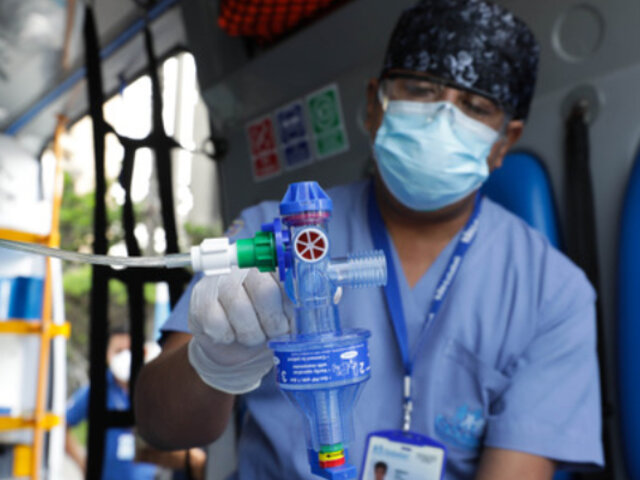 EsSalud recibió donación de 680 respiradores mecánicos para pacientes Covid–19