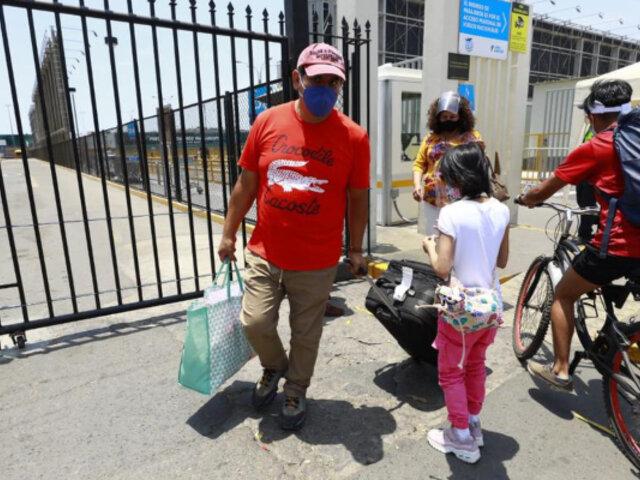 Aeropuerto Jorge Chávez: pasajeros varados por no contar con prueba molecular de covid-19