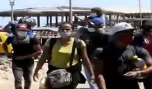 Frontera con Ecuador: movilización militar para evitar ingreso irregular de extranjeros