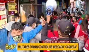Mercado Caquetá: vendedores se rehúsan a acatar la cuarentena por la covid-19