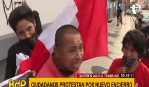 Protestantes contra cuarentena insultaron a periodistas