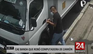 SJL: roban computadora de camión valorizada en 8 mil soles