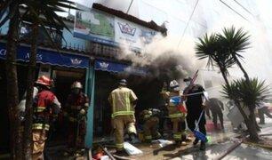 Incendio en Magdalena solo dejó daños materiales