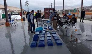 Moquegua: incautan más de 100 paquetes con clorhidrato de cocaína en el puerto de Ilo