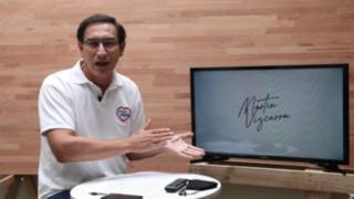 """Martin Vizcarra: """"Medidas sanitarias en elecciones deben ser claras para no generar confusión"""""""