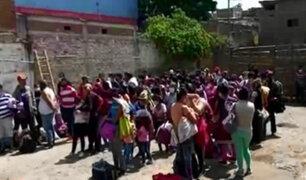 Tumbes: más de 60 venezolanos indocumentados fueron intervenidos en bus