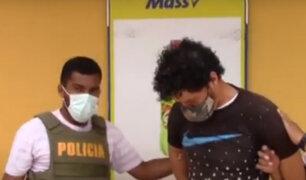 PNP frustra asalto a minimarket y captura a delincuentes en Puente Piedra