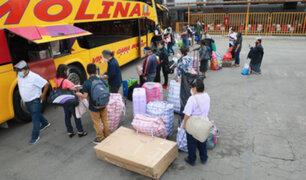 Cuarentena: solo hasta hoy se podrá viajar a regiones declaradas en alerta extrema