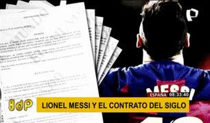 Escándalo del contrato millonario de Messi continúa: ¿quién filtró la información?