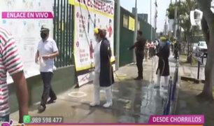 D´ Mañana: desinfectan mercado Santa Rosa de Chorrillos para evitar casos de Covid-19