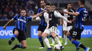 VIDEO: Cristiano Ronaldo anotó doblete en la victoria de la Juventus sobre Inter