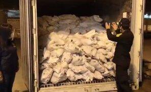 Moquegua: PNP incautó casi media tonelada de cocaína en Puerto Ilo