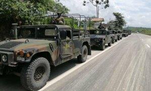 Ecuador también movilizó tropa militar a la frontera para control de migrantes ilegales