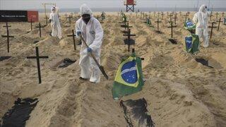 COVID-19: Se registran más de 1000 muertes diarias en Brasil