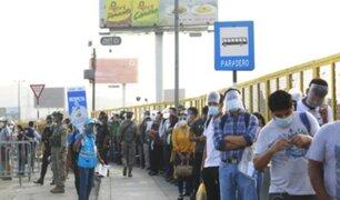 ALERTA: más de 600 paraderos en Lima y Callao tienen riesgo extremo de contagio COVID-19